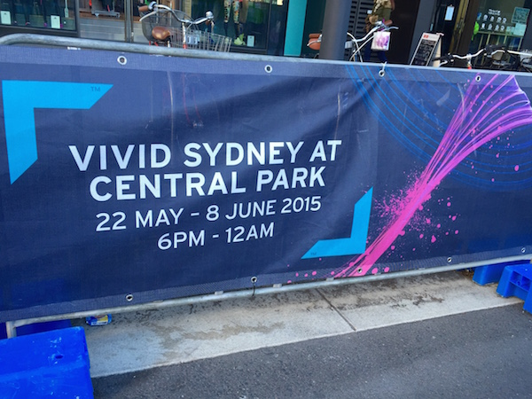 Banner Mesh - Vivid Sydney - Experiential Marketing