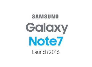 Samsung Note7 Launch 2016